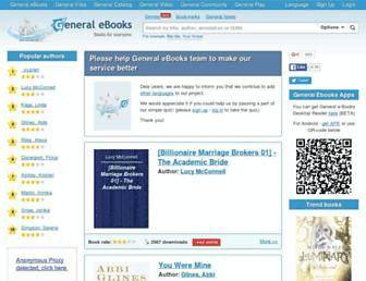 Thumbshot of General-ebooks.com