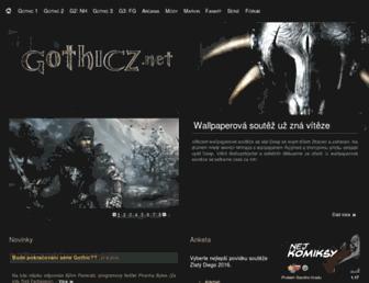 gothicz.net screenshot