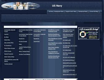 public.navy.mil screenshot