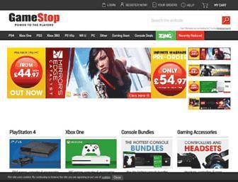 Thumbshot of Gamestop.co.uk
