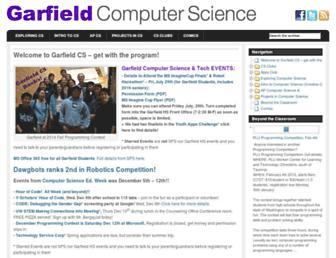garfieldcs.com screenshot