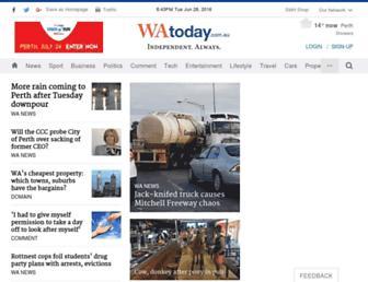 Thumbshot of Watoday.com.au