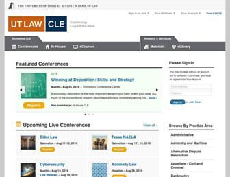 utcle.org screenshot