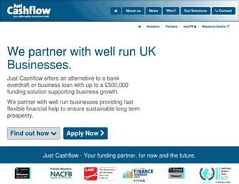 just-cashflow.com screenshot