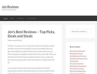 jenreviews.com screenshot
