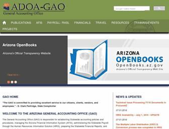 gao.az.gov screenshot