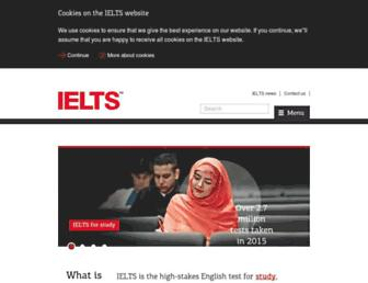 Thumbshot of Ielts.org