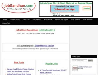 jobsandhan.com screenshot