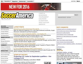 Thumbshot of Socceramerica.com