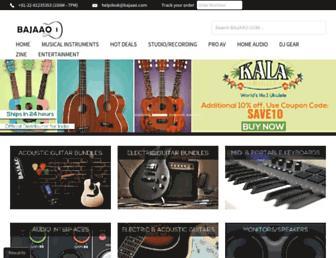 Thumbshot of Bajaao.com