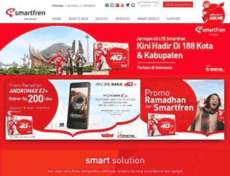 smartfren.com screenshot