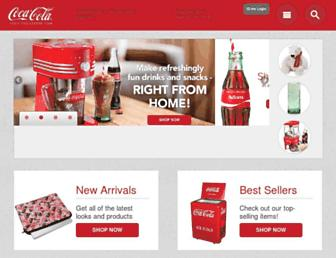 Thumbshot of Coca-colastore.com