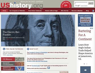 ushistory.org screenshot