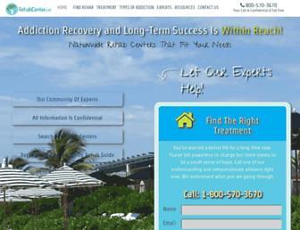 rehabcenter.net screenshot