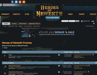 forums.heroesofnewerth.com screenshot