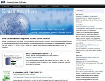emailarchitect.net screenshot