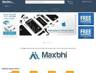 maxbhi.com screenshot