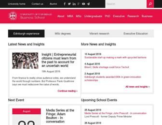 business-school.ed.ac.uk screenshot