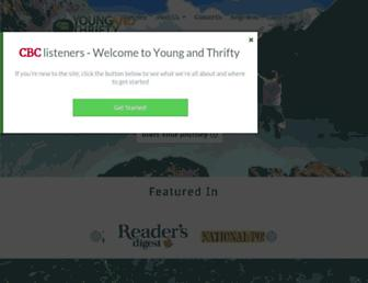 youngandthrifty.ca screenshot