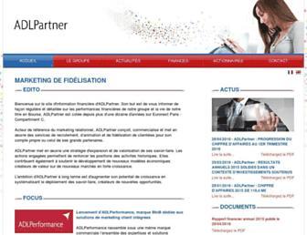 Thumbshot of Adlpartner.fr