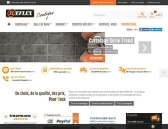 reflex-boutique.fr screenshot
