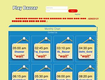 playbazzar.com screenshot