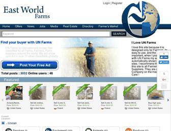 eastworldfarm.com screenshot