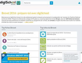 Thumbshot of Brevetdescolleges.fr