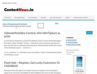 contestnews.in screenshot