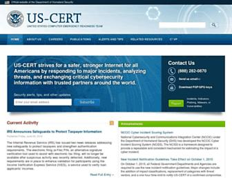 Thumbshot of Us-cert.gov