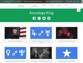 astrologyking.com screenshot