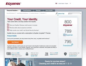 Thumbshot of Equifax.com