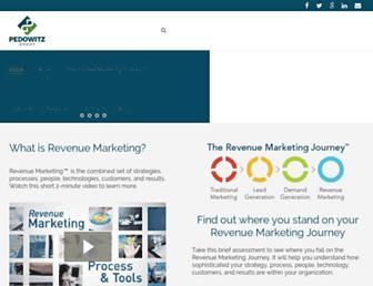 pedowitzgroup.com screenshot