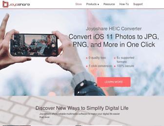 joyoshare.com screenshot