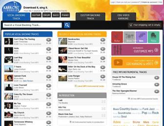 karaoke-versie.nl screenshot