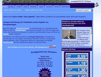 autogaszentrum-simmern.de screenshot