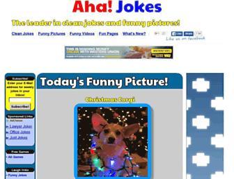 ahajokes.com screenshot