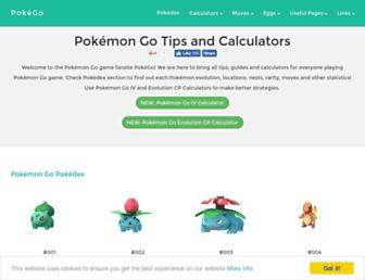 pokego.org screenshot