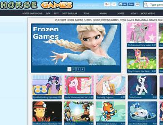horse-games.org screenshot