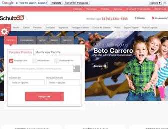 schultz.com.br screenshot