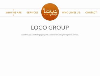 locogroup.com.au screenshot