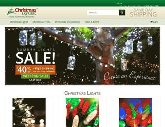 Thumbshot of Christmaslightsetc.com
