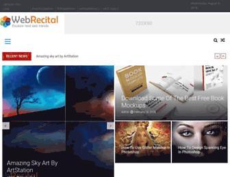 webrecital.com screenshot