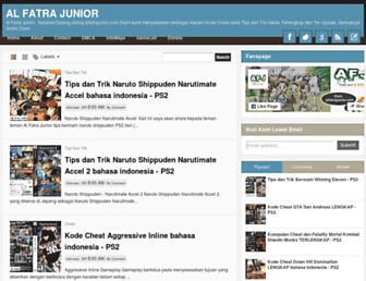 alfatrajunior.blogspot.com screenshot