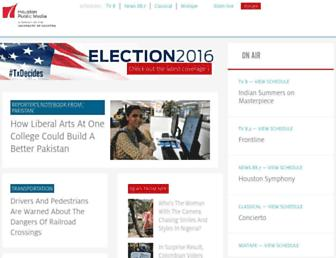 houstonpublicmedia.org screenshot