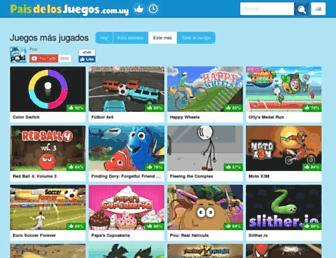 paisdelosjuegos.com.uy screenshot