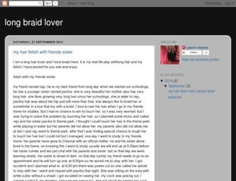 longbraidlover.blogspot.com screenshot