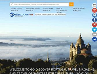 Thumbshot of Godiscoverportugal.com