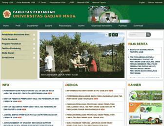 faperta.ugm.ac.id screenshot