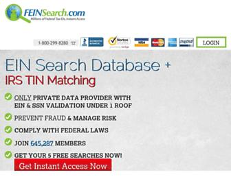 feinsearch.com screenshot